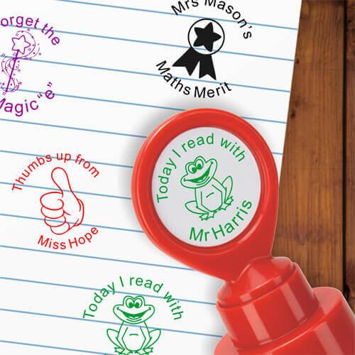 Custom School Stampers