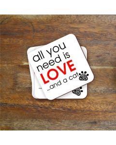 """""""All you need is..."""" Charity Coaster"""