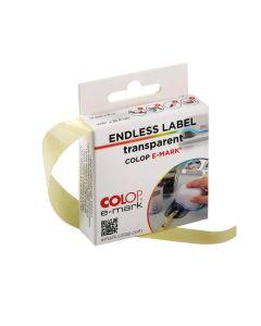 COLOP e-mark Endless Transparent Label