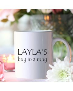 Personalised Hug in a Mug