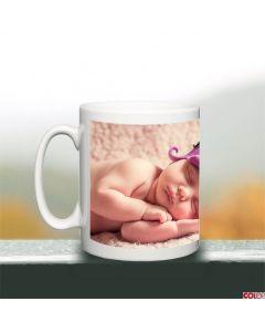 Panoramic Photo Upload Mug