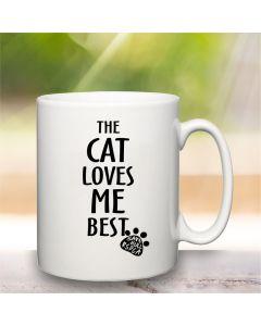 """...loves me best"""" Charity Mug"""