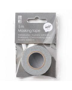 MASKING TAPE - silver - glitter - 10 mm x 5 m