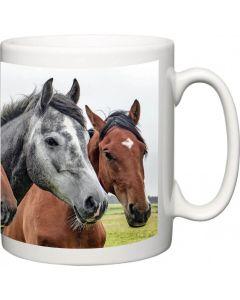 Panoramic Photo Upload Charity Mug
