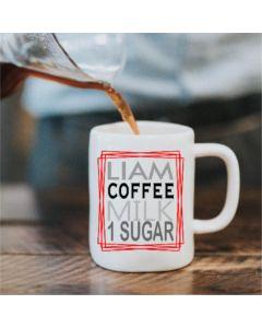 Personalised Perfect Cuppa Mug