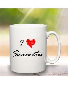Personalised Love Mug