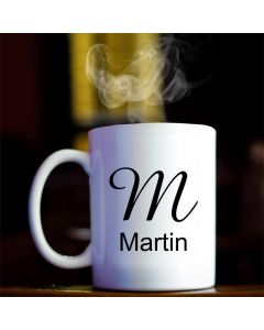 Personalised Monogram Mug