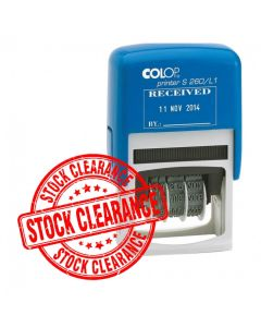CLEARANCE! COLOP S260/L1 RECEIVED Date Stamp