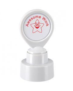 Custom School Stamper - Smiling Star