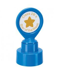 Custom School Stamper - Solid Star