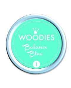 Woodies Stamp Pad - Balance Blue