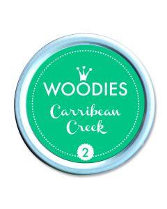 Woodies Stamp Pad - Carribean Creek