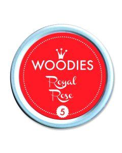Woodies Stamp Pad - Royal Rose