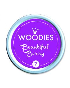 Woodies Stamp Pad - Beautiful Berry