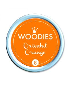 Woodies Stamp Pad - Oriental Orange
