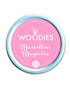 Woodies Stamp Pad - Marvellous Magnolia