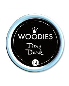 Woodies Stamp Pad - Deep Dark