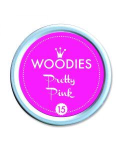 Woodies Stamp Pad - Pretty Pink