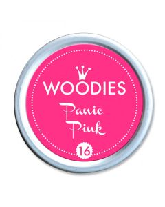 Woodies Stamp Pad - Panic Pink