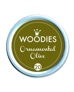 Woodies Stamp Pad - Ornamental Olive