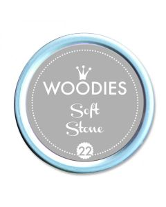 Woodies Stamp Pad - Soft Stone