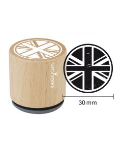 Woodies Rubber Stamp - Union Jack