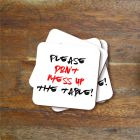 Don't Mess Up Coasters - Set of 4