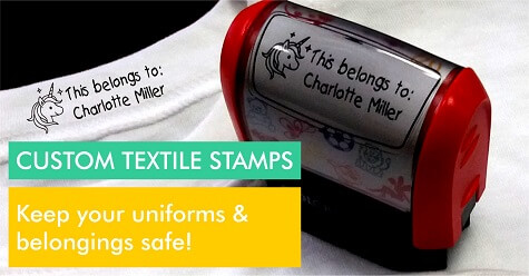 Custom Textile Stamps