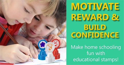 Reward and boost confidence with motivational stamps